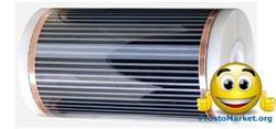 Инфракрасная нагревательная пленка, 500мм - фото 4569