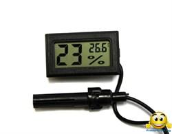 Термометр гигрометр с выносным датчиком - фото 5619