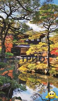 Обогреватель пленочный на стену «Японский сад (сад Киото)» - фото 5892