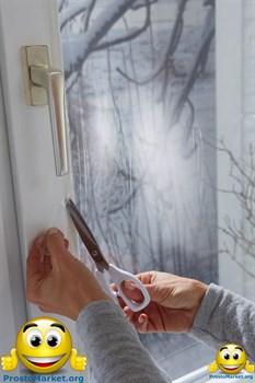 """Энергосберегающая пленка для окон """"Третье стекло"""" ThermoLayer Original с антистатическим напылением на метраж, ширина рулона 1,1 метра - фото 5905"""