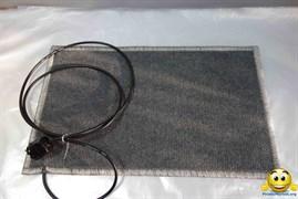Коврик с подогревом 50х30 (тонкий) 25ВТ