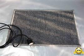 Коврик с подогревом 50х80 (плотный) 75Вт
