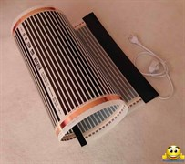 Электрический коврик-сушилка 80х225 (обогреватель для цыплят, крольчат, подогрев земли в теплице, подогрев инкубатора, птицы) 360Вт
