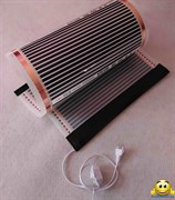 Электрический коврик-сушилка 100х325 (обогрев уликов, обогреватель для птенцов, обогреватель для цветов, обогрев грунта) 650Вт
