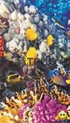 """Инфракрасный обогреватель с изображением на стену """"Коралловый риф (рыбки)"""" (уценка)"""