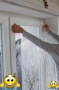 """Энергосберегающая пленка для окон """"Третье стекло"""" ThermoLayer Original с антистатическим напылением на метраж, ширина рулона 1,2 метра"""