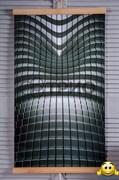 """Инфракрасный электрический пленочный настенный обогреватель """"Абстракция (Hi-Tech) 3D"""" (уценка)"""